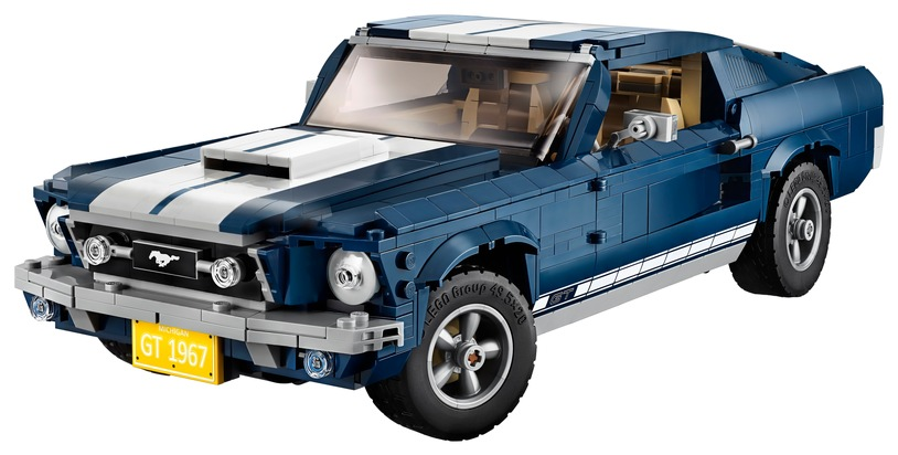 1967er Ford Mustang als LEGO-Bausatz (Copyright: Ford-Werke GmbH)