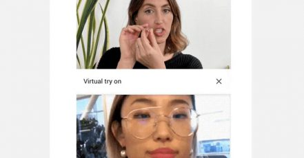 Neue Werbeform: AR Beauty Try-On by Google (Screenshot: Google Blog)