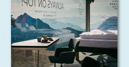 Bild: Accor verlost ein Frühstück in Deutschlands höchstem Pop-Up-Hotelzimmer direkt auf der Zugspitzplattform, Top of Germany (Bildrechte: Accor, group.accor.com)
