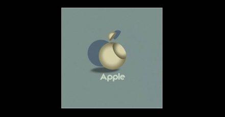 Titelbild: Das Apple Logo im Bauhaus Stil (Designed by Vladimir Nikolic / 99designs)