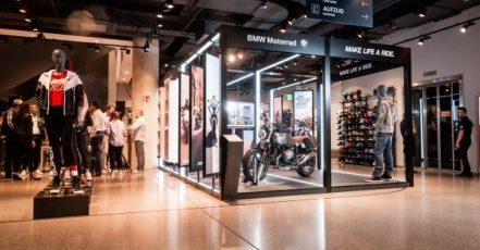 Foto: BMW Motorrad | BMW Motorrad Pop-Up Store@SportScheck