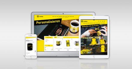 Bild: Best IT / BVB Shop   Umfangreiche Personalisierung im BVB Shop