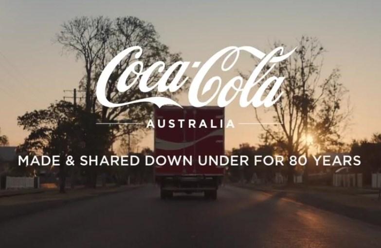 Screenshot: Coca-Cola Australia Jubiläumskampagne https://www.youtube.com/watch?v=Slv33WeCSG0#action=share 18.10.2018