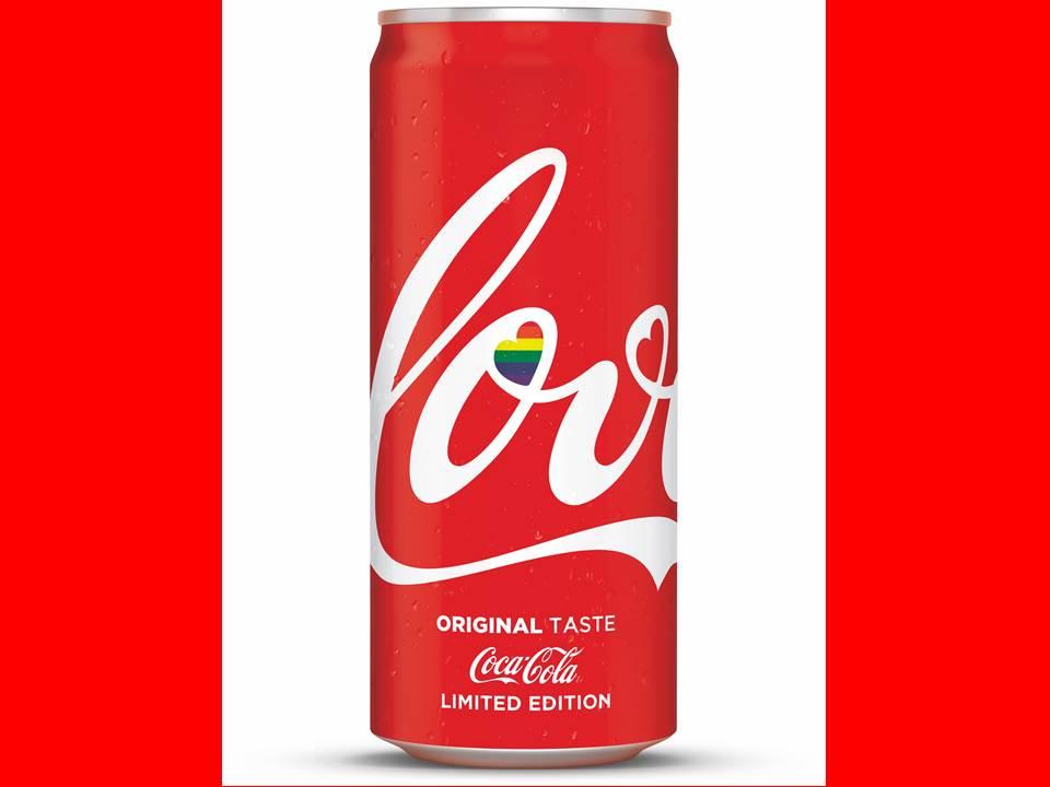 """Bild: Coca-Cola wirbt weiter für mehr Toleranz und legt die limitierte """"Love Can"""" aus 2019 in 2021 wieder auf"""