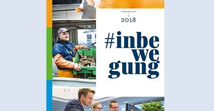 Bild: Cover des Jahresberichts 2018 (Genossenschaftsverband – Verband der Regionen e.V. / TERRITORY)