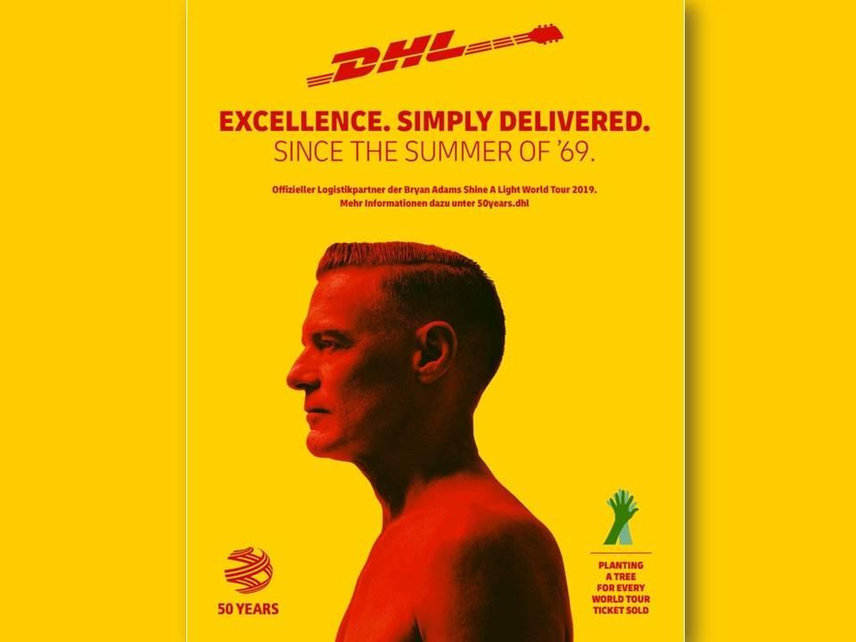 Bild: Koooperation zwischen DHL und Bryan Adams_Baumpflanzaktion 2019