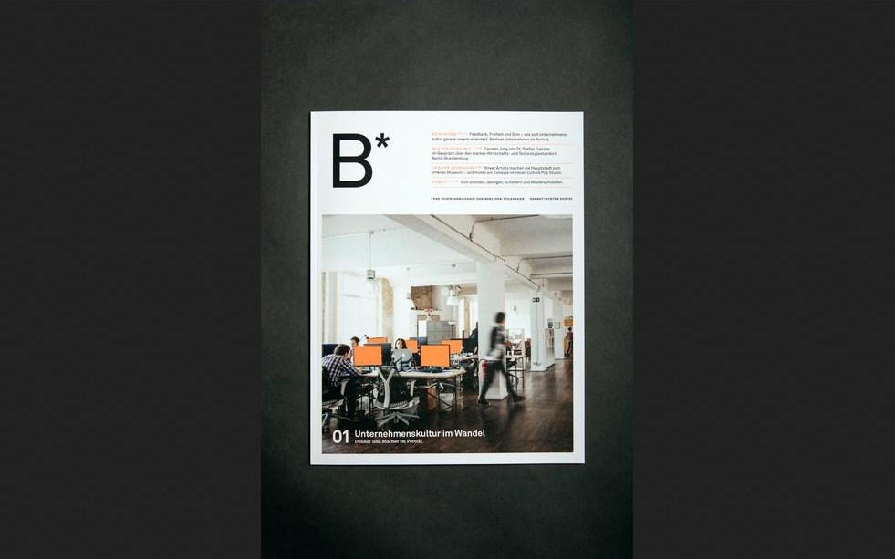 B* – das neue Businessmagazin der Berliner Volksbank