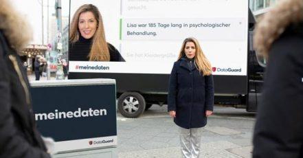 Foto: DataGuard Truck Lisa in Berlin (Copyright: DataGuard)