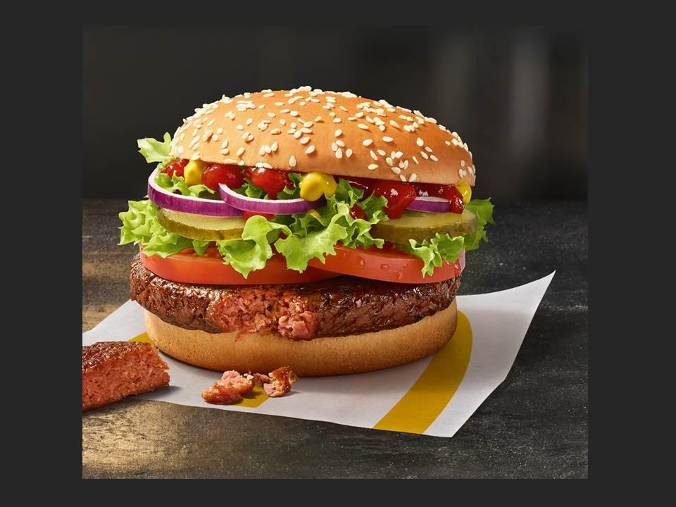 Der Big Vegan TS von McDonald's (Copyright: McDonald's Deutschland)