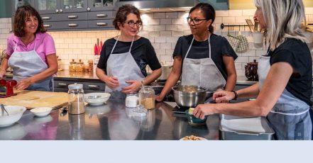 Bild: Die Kochkurse von PIEMONT PUR gibt es nun auch als Online-Variante (Copyrights: PIEMONT PUR)
