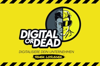 """Digital OR Dead""-Kampagne (abas Software AG)"