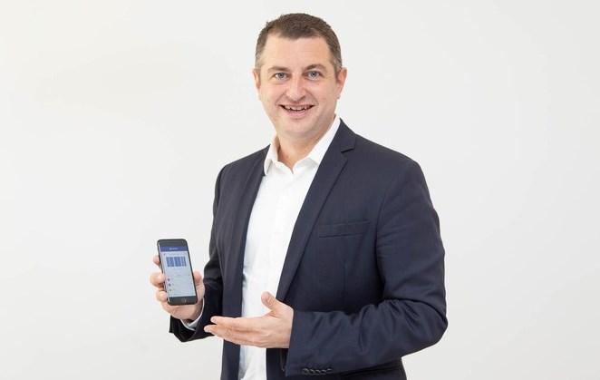 Dr. Christian Pirkner, CEO Blue Code International AG. Quelle: obs/Blue Code International AG/TANZER.