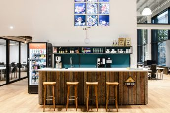 Foto: Der neue Food Tech Campus gibt Gründern ein Zuhause. Quelle: obs/EDEKA ZENTRALE AG & Co. KG