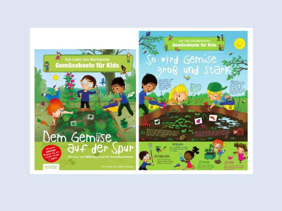 """Bild: EDEKA Stiftung, Projekt """"Gemüsebeete für Kids"""", ergänzendes Lernmaterial (Copyright: EDEKA Stiftung)"""
