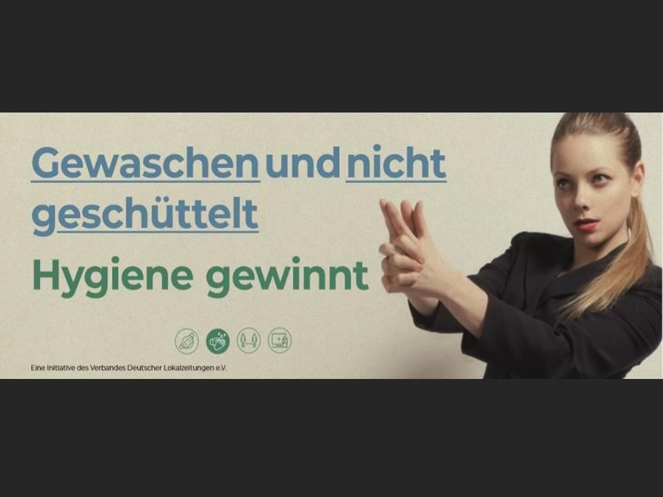 Bild: Lokalzeitungen starten Gesundheitskampagne. Quelle: obs/Verband Deutscher Lokalzeitungen e.V. (Copyrights / Foto: Verband Deutscher Lokalzeitungen e.V.)