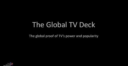 "Bild: Global TV Group / Cover ""Global TV DECK"""