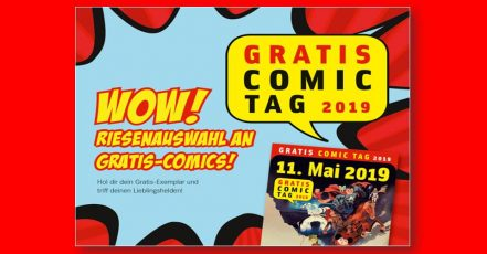 Bild: Gratis Comic-Tag bei Hugendubel (Copyright: Hugendubel)