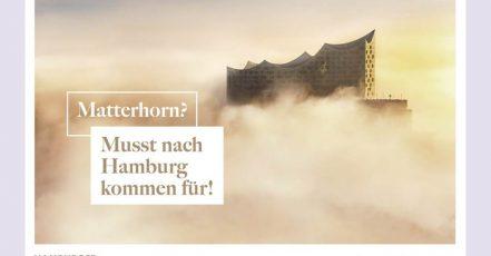 Bild: Hamburger Originale – Kampagnenmotiv Matterhorn national (Quelle: Hamburger Originale Initiative)