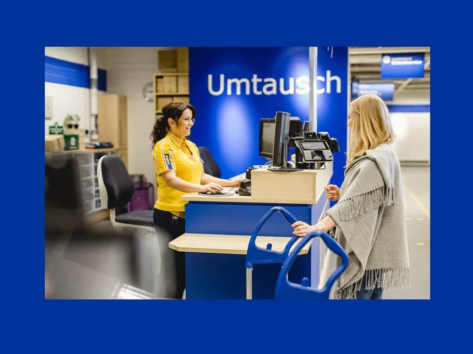 """Bild: IKEA kauft im Rahmen der """"Zweiten Chance"""" gebrauchte IKEA Möbel zurück. (Quelle: IKEA Deutschland / André Grohe)"""
