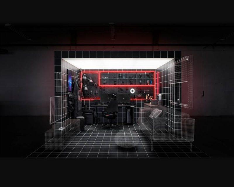 IKEA und Republic of Gamers bringen das Gaming-Erlebnis auf ein neues Level (Copyright: Inter IKEA Systems B.V. 2021)