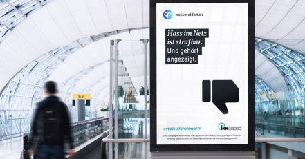 Bild: Die Krankenkasse IKK classic beteiligt sich an #StopHateForProfit und unterstützt die Meldeplattform HASSMELDEN.DE
