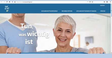 "Screenshot: Website der Initiative ""Tun was wichtig ist"" (Link: https://www.tunwaswichtigist.at/)"