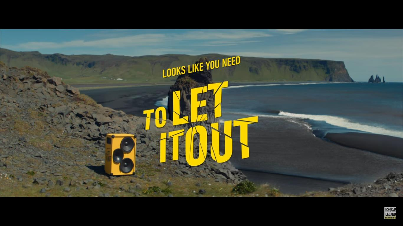 "Screenshot: Youtube Video zur Island Kampagne ""Let it out"" / 16.07.2020"