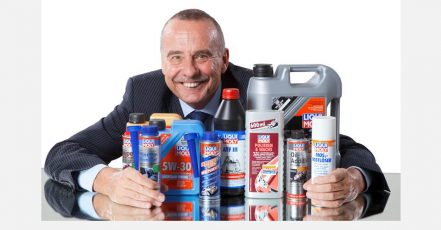 Foto: Ernst Prost, Geschäftsführer von LIQUI MOLY, wirbt für Zuversicht und Innovation