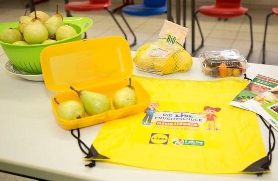 Dritte Runde für die Lidl-Fruchtschule. Bewerbungszeitraum läuft noch bis zum 1. August 2018. Quelle: obs/LIDL/Lidl