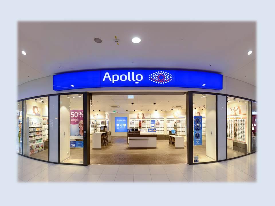 Bild: Mit der Luca App soll ein Besuch der Apollo Filialen in Pandemie-Zeiten noch sicherer werden. (Bildrechte / Foto: Apollo-Optik GmbH & Co. KG)