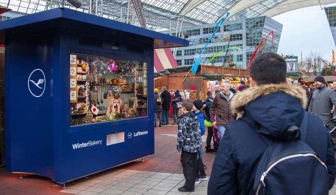 Foto: Lufthansa Winter Bakery am Airport München (Copyright: Flughafen München)