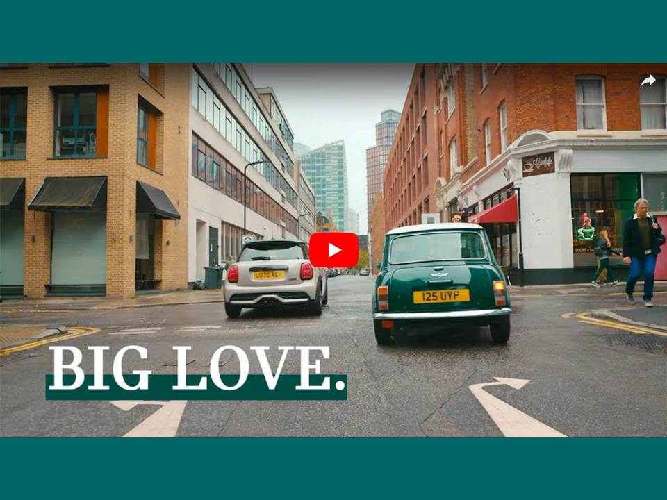 Titelbild: Screenshot Attitude Film: MINI - We're Different, But Pretty Good Together - BIG LOVE (https://youtu.be/cYSPuVxviuY)