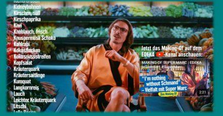 """Musiker Marc Rebillet is """"looking for the Schmand"""" in einem neuen Video von EDEKA. Das Video geht gerade viral – es ist wirklich sehenswert und bestätigt JvM einmal mehr als Top-Kreativ-Agentur. https://www.youtube.com/watch?v=vhn02_mB_lU"""
