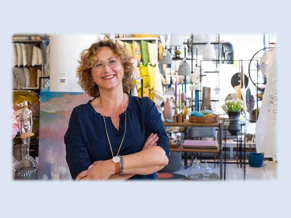 Titelbild: Visa Coaching mit Frank Thelen: Marion Hansult - LiNEA Augsburg (Bildrechte: Visa Deutschland)