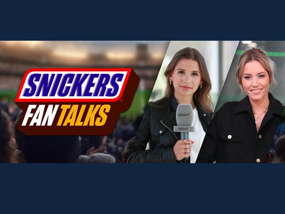 """Bild: Anpfiff für die """"SNICKERS Fan Talks"""" - MediaCom startet gemeinsam mit Mars Wrigley innovatives Live-Watchalong-Format zum Fußball-Sommer 2021. (Copyrights / Herausgeber: MediaCom Agentur für Media-Beratung GmbH)"""