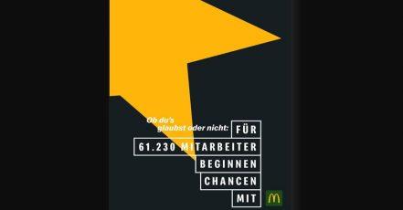 Bild: McDonald's Anzeigenmotiv 1- Globale People Kampagne (Quelle. obs/McDonald's Deutschland)