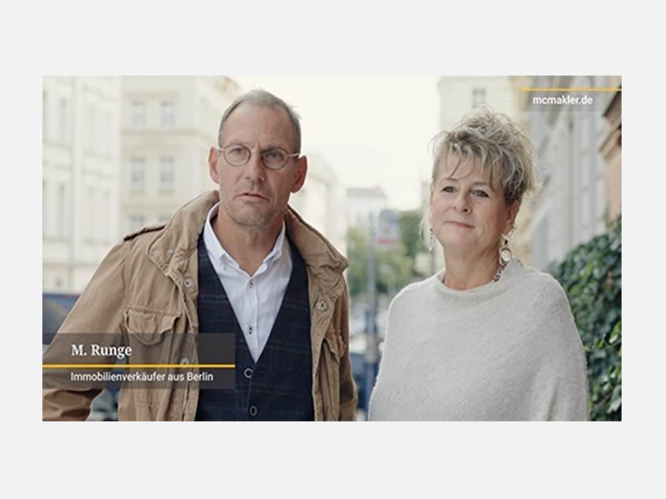 Neue McMakler TV-Kampagne mit echten Kunden (Bild: McMakler)