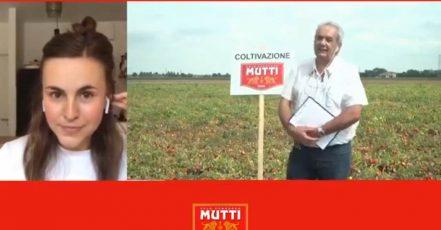"""Screenshot: Video """"Tomatenernte in Italien erleben"""" (Quelle: https://mutti-parma.com/de/tomatenernte-in-italien-erleben/)"""
