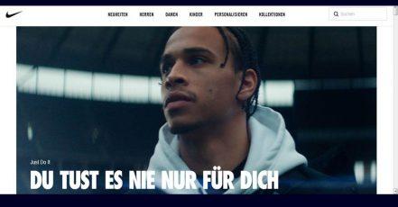 Screenshot https://www.nike.com/de/just-do-it_06.11.2019