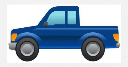 Bild: Pick up-Emoji von Ford (Quelle: obs/Ford-Werke GmbH/Ford Motor Company. Bildrechte: Ford-Werke GmbH. Fotograf: Ford Motor Company)
