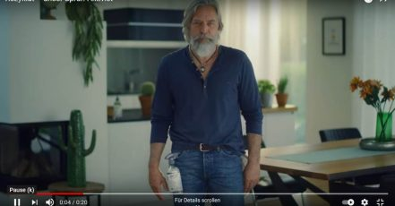 Bild: Szene aus der neuen ROSSMANN Nachhaltigkeitskampagne