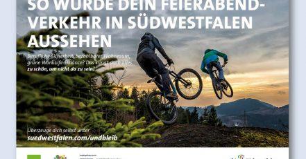 Bild: Südwestfalen Kampagne Biker-Motiv