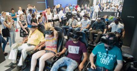 Bild: Samsung Showcase VR-Kino (Quelle: Samsung.com)