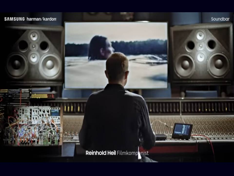 "Screenshot Kampagnen-Video: Samsung harman/kardon ""Feel more than you can see""_16.09.2019"