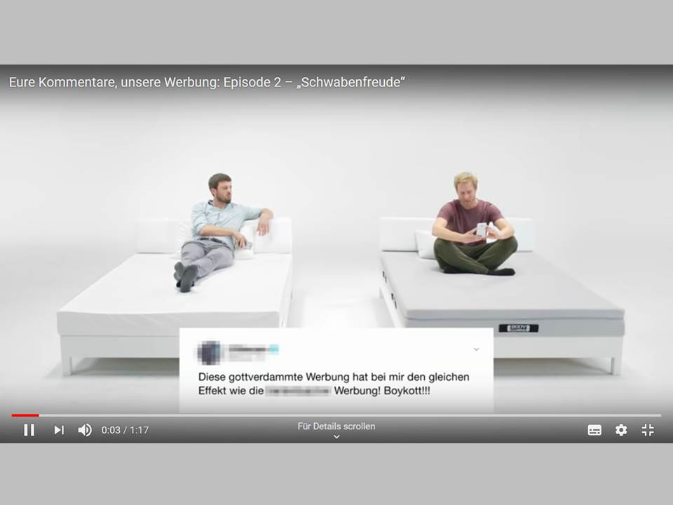 """Bild: Screenshot aus dem Video """"Schwabenfreunde"""" von bett1.de (Quelle: https://www.youtube.com/watch?v=Siw7leXBS9s&feature=youtu.be)"""