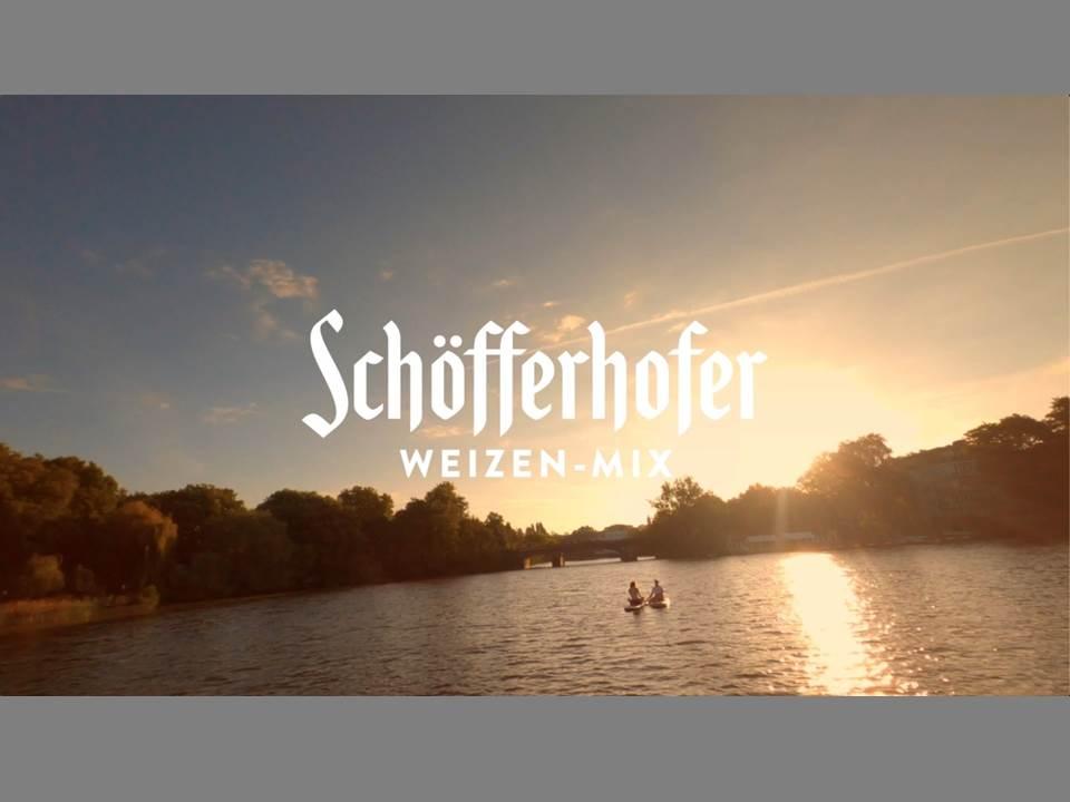 """Bild: Schoefferhofer """"Orange Hour"""" (Quelle / Copyrights: Schöfferhofer / Radeberger Gruppe KG, Ogilvy)"""