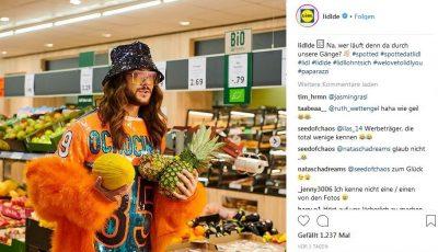 Screenshot: Instagram-Seite von Lidl Deutschland  https://www.instagram.com/lidlde/?hl=de