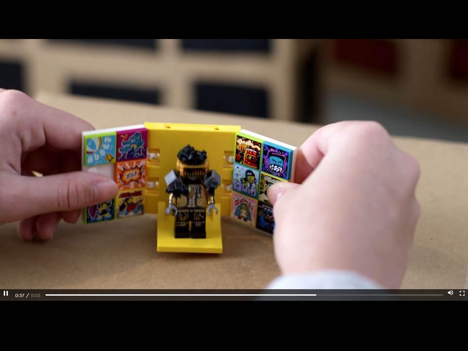 Screenshot aus dem Teaser-Video zu LEGO® VIDIYO™ (Quelle: https://www.lego.com/de-de/themes/vidiyo/about)