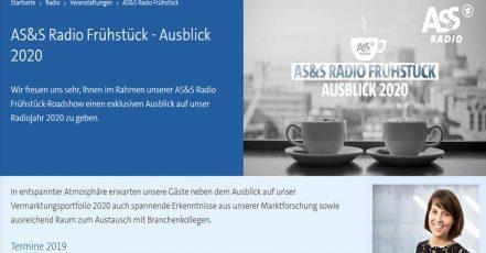 Bild: Screenshot AS&S Radio Frühstück_09.09.2019