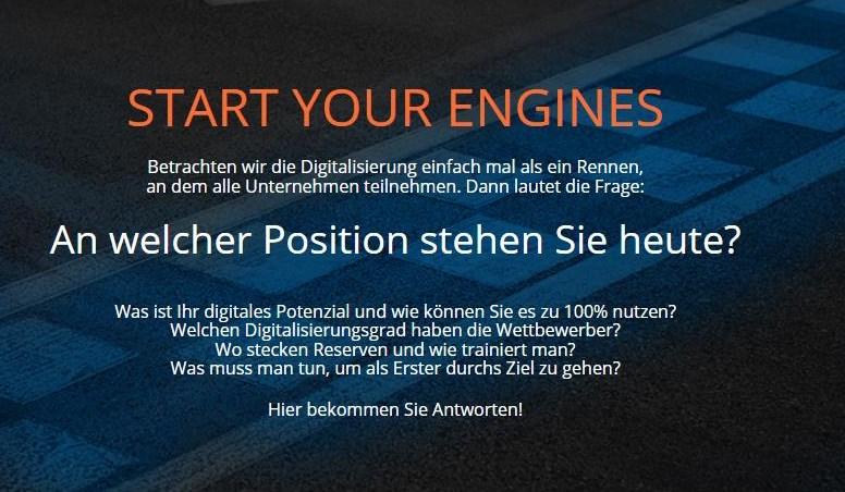Checkliste Digitalisierung - Selbsttest für Unternehmen |  Screenshot: http://ind40.digital/ DST consulting GmbH_04.09.2017